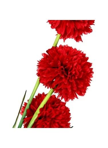Vitale Çiçekli Begonya Demeti Kırmızı